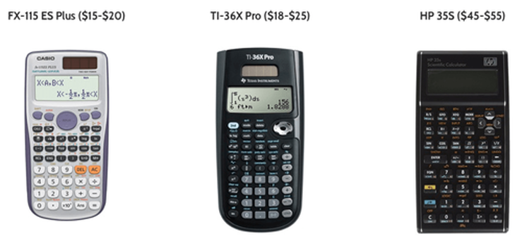 Choosing The Best Calculator for the 2019 FE Exam - PPE